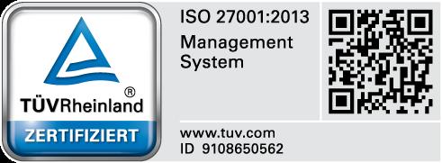 TÜV ISO 27001:2013 CenterDevice
