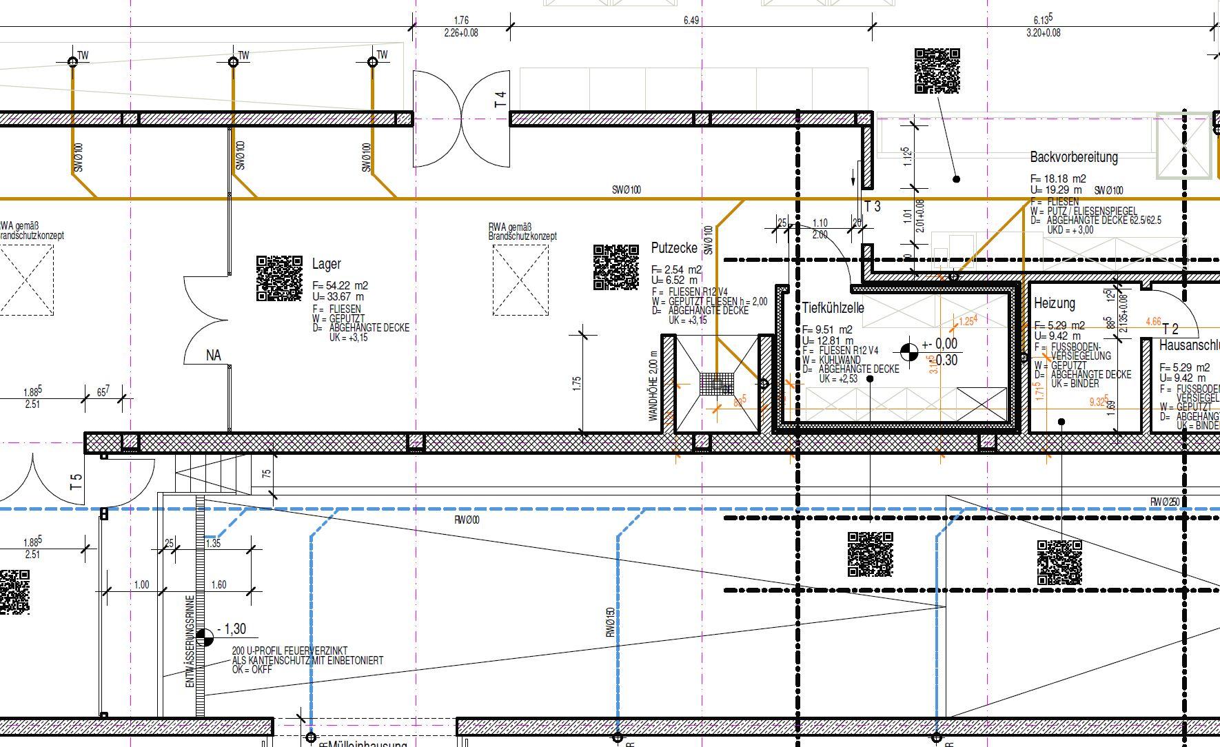 Via QR-Code alle relevanten Details zum Projekt sichten