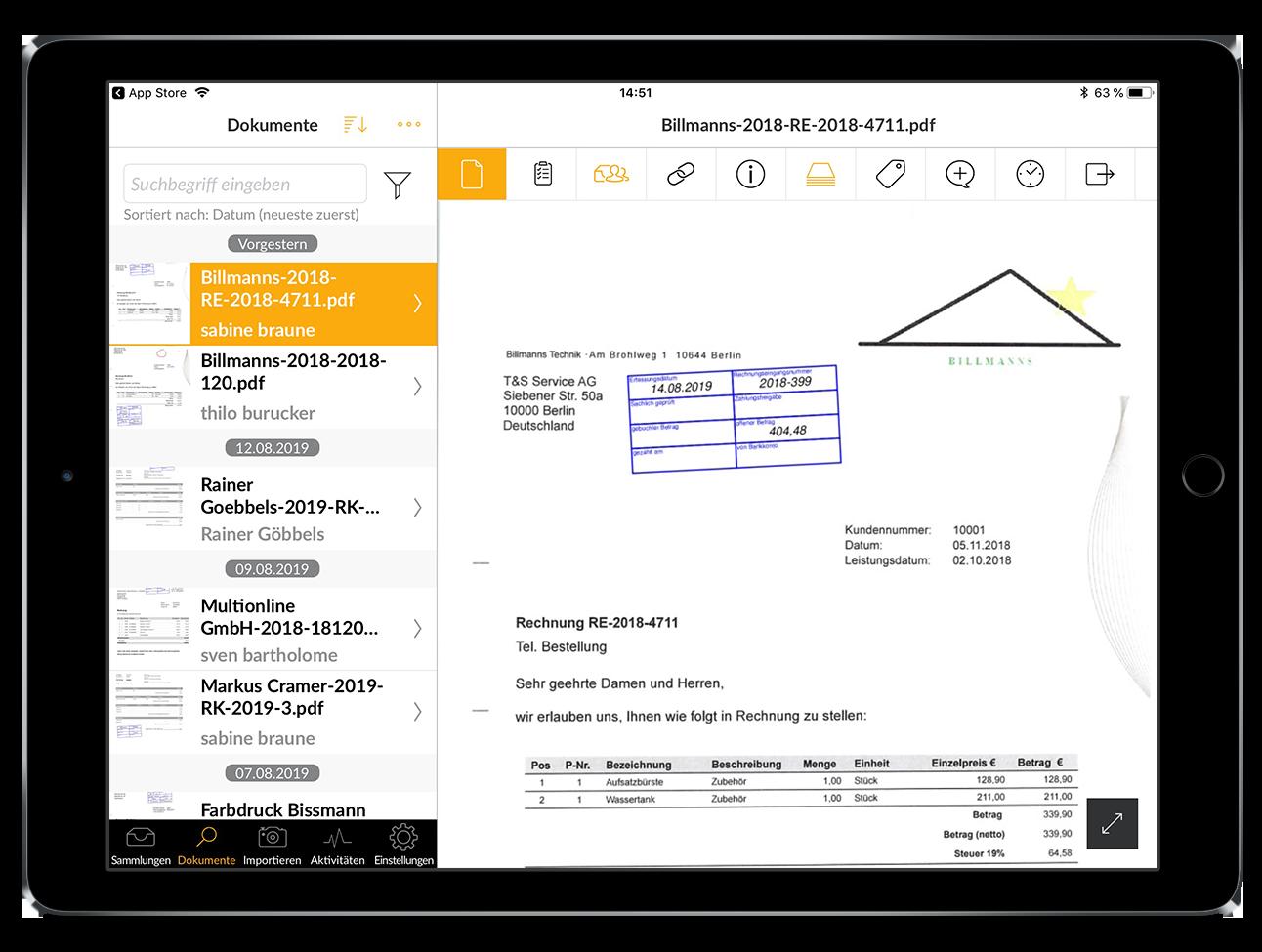 Nutzen Sie unsere Whitelabelling-Option, um CenterDevice an Ihr Corporate Design anzupassen