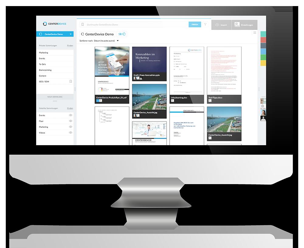Die Dokumentencloud für Ihr Business
