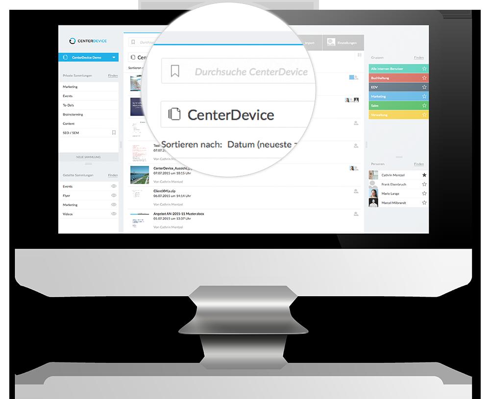 CenterDevice paperless papierlos starten – Ihr papierloses Büro – deutsche Cloud