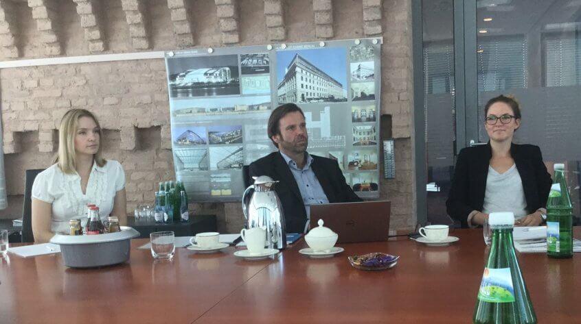 Pressekonferenz in den Räumen der CenterDevice GmbH Bonn.