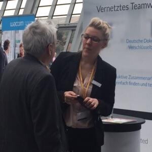 Cathrin Mentzel, Cloud Unternehmertag 2016, CenterDevice