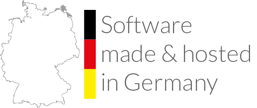 über uns – software made and hosted in germany
