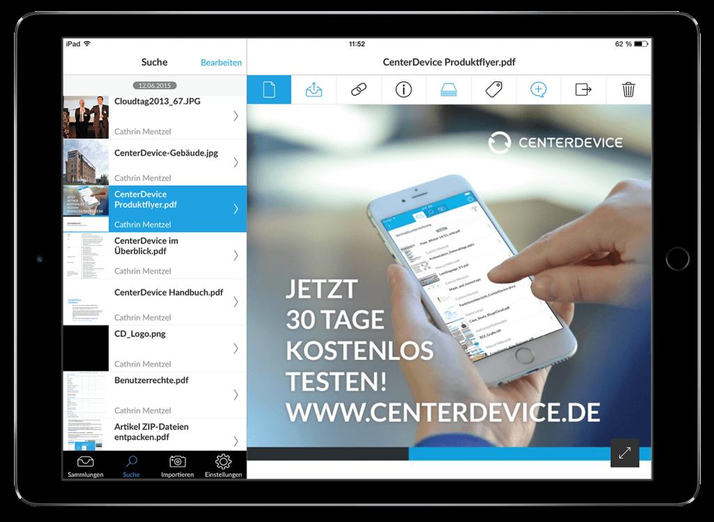 ipad centerdevice app iphone appstore