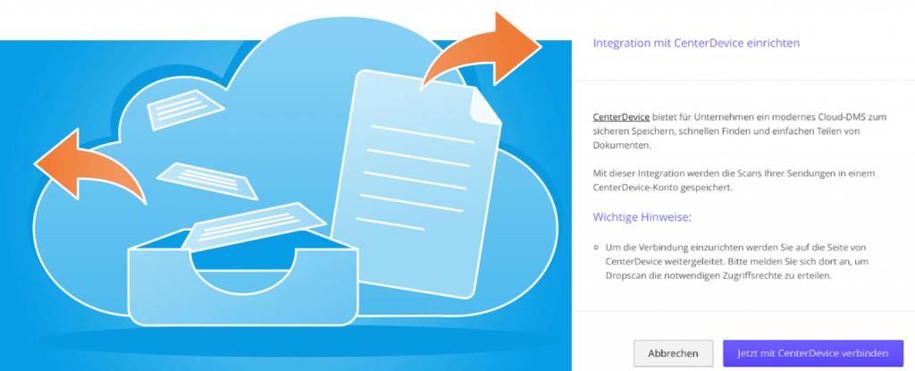 Sichere Lösung: Via API ein Business-DMS an die Scandienst-Anwendung anbinden.