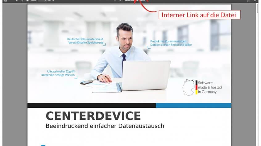 interne Links in CenterDevice