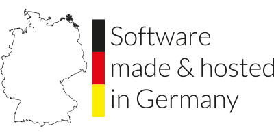 Software made & hosted in germany